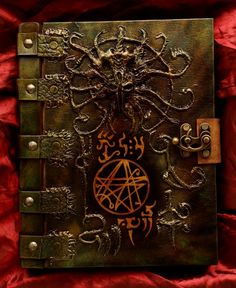 Necronomicon Book of the Dark Path by MrZarono.deviantart.com on @DeviantArt
