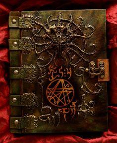 Necronomicon Book of the Dark Path by MrZarono.deviantart.com on @DeviantArt