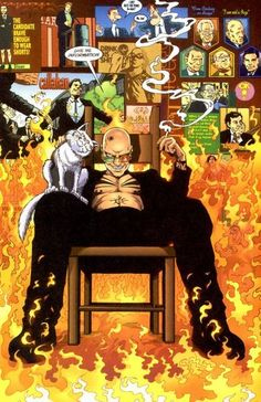 From the graphic novel series Transmetropolitan.