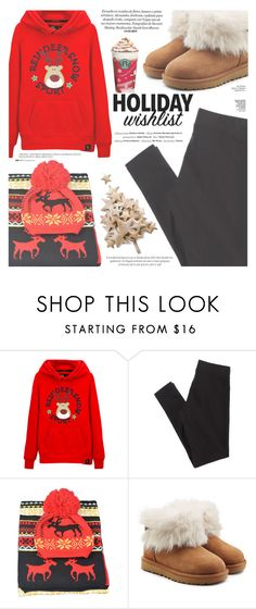 """""""#18polyMAS"""" by zayngirl1dlove ❤ liked on Polyvore featuring American Eagle Outfitters, UGG, Maison Margiela, Anja and Vision"""
