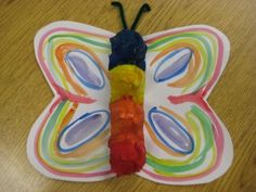 Egg Carton Butterfly Craft Image