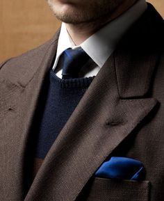 Exploring the psychological meanings behind the color brown in men's fashion.