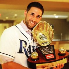 Famous Baseball Players, Kiss Books, Gold Gloves, Beautiful Men Faces, The Outfield, Tampa Bay Rays, American League, Best Player, Athletes