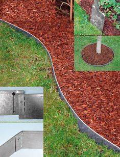 10 St. Rasenkante Rasenkanten Metall verzinkt 118x13 cm Gesamtabmessung 11,5 m  Beschreibung: Sorgen Sie in Ihrem Garten für klare Linien, trennen Sie Rasen und Kies bzw. Blumenbeete durch unsere Rasenkante mit der Länge...