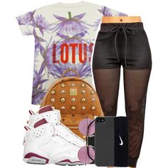 A fashion look from August 2014 featuring MCM backpacks, Topshop earrings and HEX tech accessories. Browse and shop related looks.