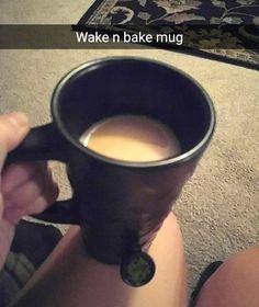 Wake and Bake Wake And Bake, Popular, Baking, Mugs, Tableware, Dinnerware, Bakken, Tumblers, Tablewares