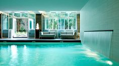 Highlighted in Conde Nast Traveler's most gorgeous spas in Amsterdam, the Guerlain Spa at Waldorf Astoria Amsterdam.