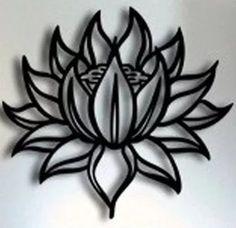 quadro oriental escultura parede mdf flor de lotus 50x50 cm Leg Tattoos, Flower Tattoos, Tribal Tattoos, Tatoos, Lotus Vector, Lotus Logo, Feather Cut, Rolled Paper Art, Cd Art