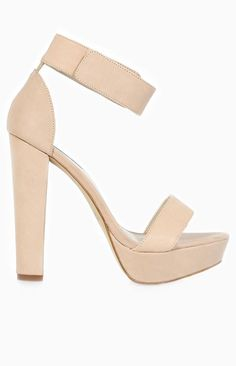 Windsor Smith Malibu Heels in Bone Available from: Beginning Boutique