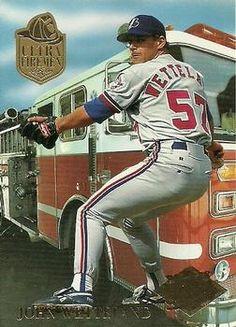 John Wetteland Montreal Expos. 1994 Fleer Ultra Fireman