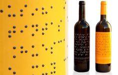 3 o 4 al dia: Vino con etiqueta en Braille