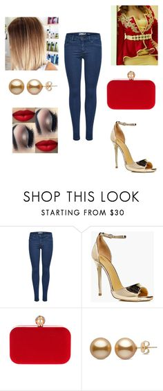 """algerian karako"" by tinhinane ❤ liked on Polyvore featuring Boohoo, WithChic and xO Design"