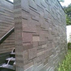 70 ideas for exterior house cladding outdoor Exterior Signage, Wall Exterior, Exterior Cladding, House Paint Exterior, Exterior Remodel, Exterior Design, Stone Wall Design, Pond Design, Fence Design