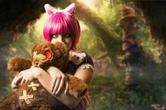 Cosplayer: Porcelain Cosplay Character: Annie From: League of Legends  Photo: TemplarDigital