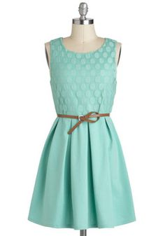 Refine Mint Dress, #ModCloth