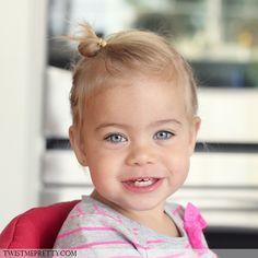 Tuto coiffure petite fille : le palmier revisité