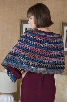 As You Like it Wrap By Annette Stewart - Free Crochet Pattern - (ravelry)