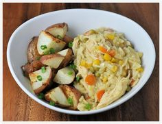 Cooking it Slow (Slow Cooker): Easy chicken and veggies made in the slow cooker.