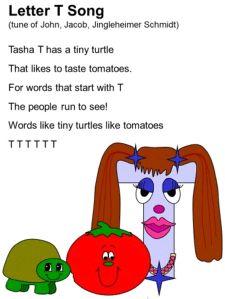 Letter T Song Lyrics