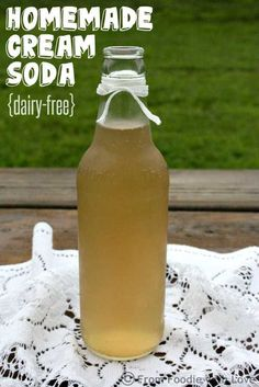 As promised, I am going to share how you can use our Homemade Vanilla Syrup to make delicious dairy-free Homemade Cream Summer Drinks, Fun Drinks, Healthy Drinks, Beverages, Refreshing Drinks, Soda Stream Recipes, Coca Cola, Vanilla Syrup, Brunch