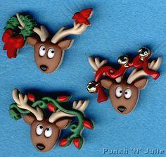 OH DEER Reindeer Christmas Tree Lights Bells Novelty Dress