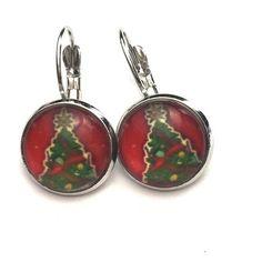 Christmas tree earrings Christmas tree earrings Jewelry Earrings