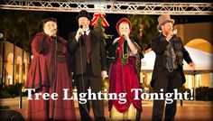 Tonight is our highly-anticipated tree lighting! Join us in the Piazza at 5 pm for the festivities.