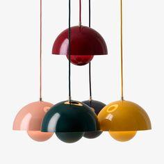 verner planton flowpot pendant beige red deep red dark green black blue mustard suite ny and tradition