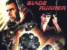 Blade Runner (1982 ) - A megalópole cibernética (2019) de Ridley Scott  feita de uma colagem das cidades de  Los Angeles e São Francisco ( San Angeles )