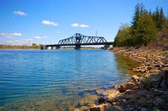 Built in 1913, the Little Current Swing Bridge is the gateway to Manitoulin Island, providing the only land access to the island.