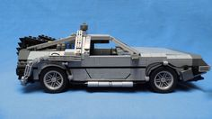 https://flic.kr/p/nTgMRd | DeLorean Time Machine 02 | ALL PICTURES: www.flickr.com/photos/angelo_s/sets/72157645048044678/ Car from my favorite movie series, Back to the Future! Roughly 1:13 scale model 32x15x11 cm 1 kg of LEGO Side view