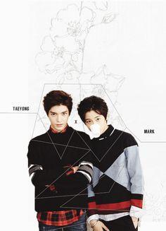 mark, taeyong, and smrookies image