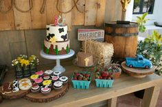 Cowboy Party, 2nd Birthday