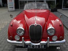 Here kitty kitty.....Jaguar  XK 150 S roadster 1959 Vintage, Classic and Old Cars photo