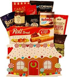 Gingerbread House Gift Basket * You can get additional details at the image link.