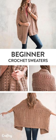 Beginner Sweater Projects - Pattern