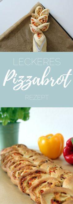 Pizzabrot zum Grillen - Rezept - michilicious - Handlettering und Bullet Journal