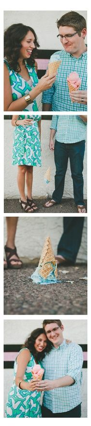 Baby Gender Reveal//Waste of perfectly good ice cream
