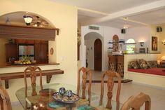 Dining room at Casa Canteena.
