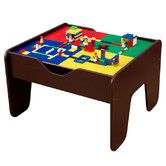 Found it at Wayfair - KidKraft 2-in-1 Activity Table in Espresso