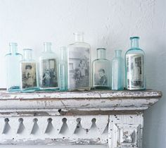 antique bottles...
