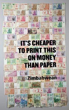 Raising awareness of the regime in Zimbabwe