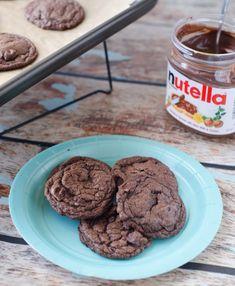 Nutella Chocolate Chip Cookies @Natasha Merchant (The Cake Merchant)