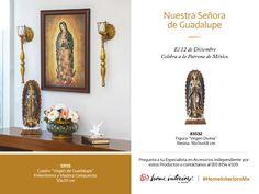 Celebra ésta hermosa fecha y vive una bella tradición #HomeInteriorsMx #VirgendeGuadalupe #Decoración #Hogar #decotips #hometip