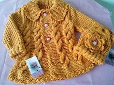 Bellos abrigos para niños tejidos en la técnica de crochet y dos agujas Si  te gusto dale like comparte y Suscribete al canal  ) 7c5b005c90f