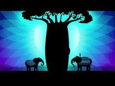 """""""Malaika la Princesa"""". Malaika es una niña africana, princesa de una manada de elefantes, que vive sobre el lomo de su padre Komba. En el largo viaje por encontrar los bebederos de agua, Malaika entenderá que la memoria es la clave de la supervivencia de los elefantes."""