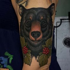 bear tattoo meaning