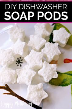 Learn how to make your own affordable dishwasher soap pods in this easy DIY cleaning tutorial. Our easy dishwashing detergent tablet recipe uses natural ingredients like essential oils to get dishes sparkling clean. Homemade Cleaning Products, Cleaning Recipes, Natural Cleaning Products, Cleaning Tips, Homemade Dishwasher Detergent, Dishwasher Tablets, Clean Dishwasher, Tablet Recipe, Cleaners Homemade