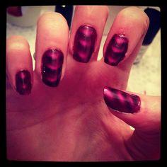 magnetic nail polish :) Magnetic Nail Polish, Magnets, My Style, Beauty, Beauty Illustration