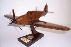 Hawker Hurricane Mk IIC wooden airplane model. 199.00 €
